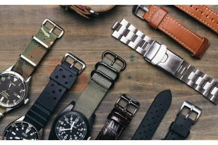 Виды материалов для ремешков на часы