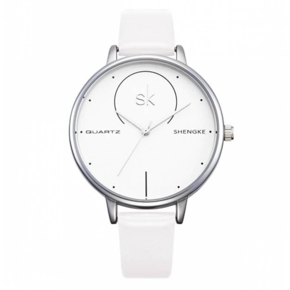 Женские Часы наручные SK, белые 2522
