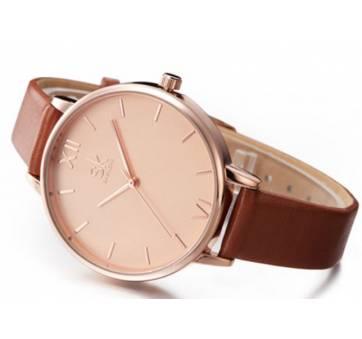 Женские Часы наручные SK, коричневые 2529
