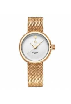 Женские часы SK, золотистые