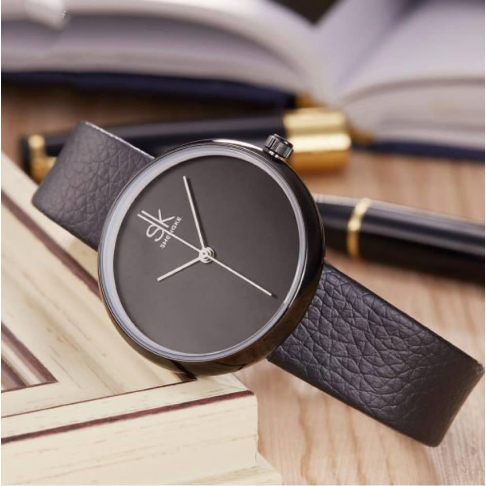 Женские Часы наручные SK, черные 2531