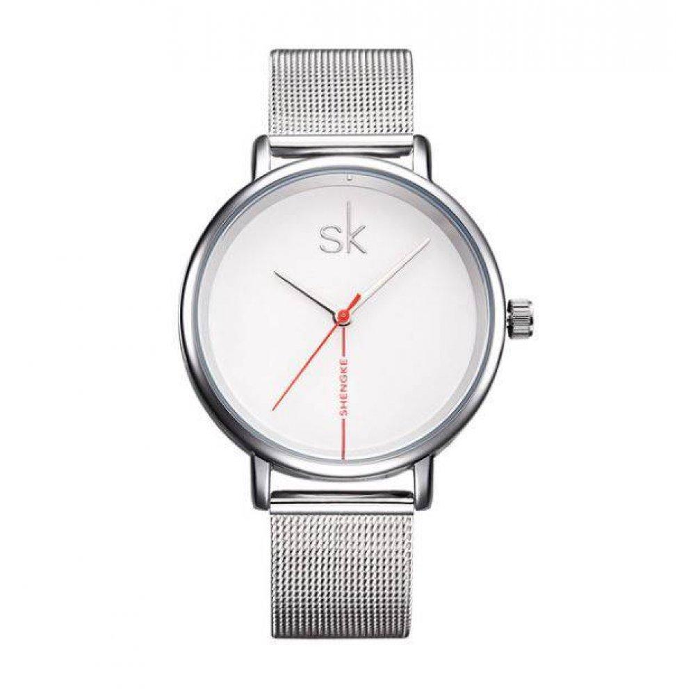 Женские Часы наручные SK, белые 2533
