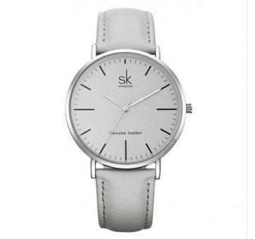 Женские Часы наручные SK, серые 2539