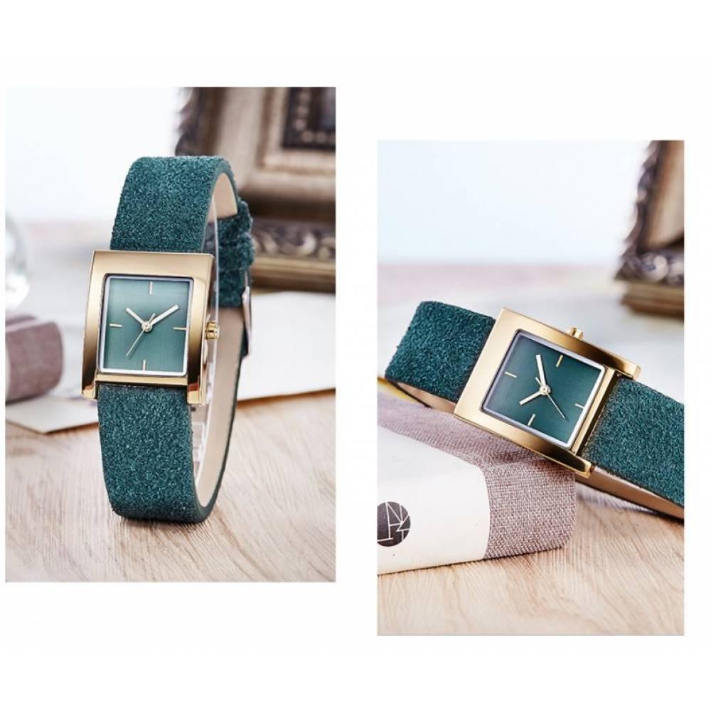 Женские Часы наручные SK, зеленые 2541