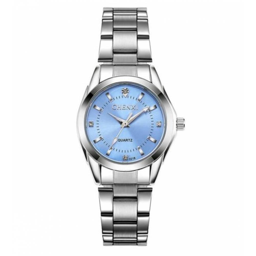 Часы наручные CC голубые 2621