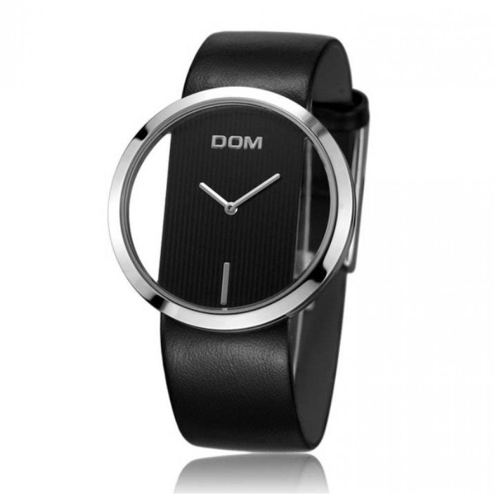 Женские Часы наручные DOM черные 2632