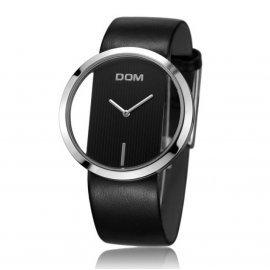 Часы люкс DOM черные