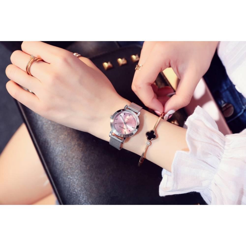 Женские Часы наручные G розовые 2635