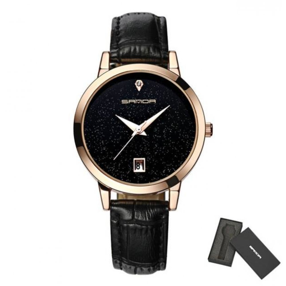 Женские Часы наручные S черные 2640