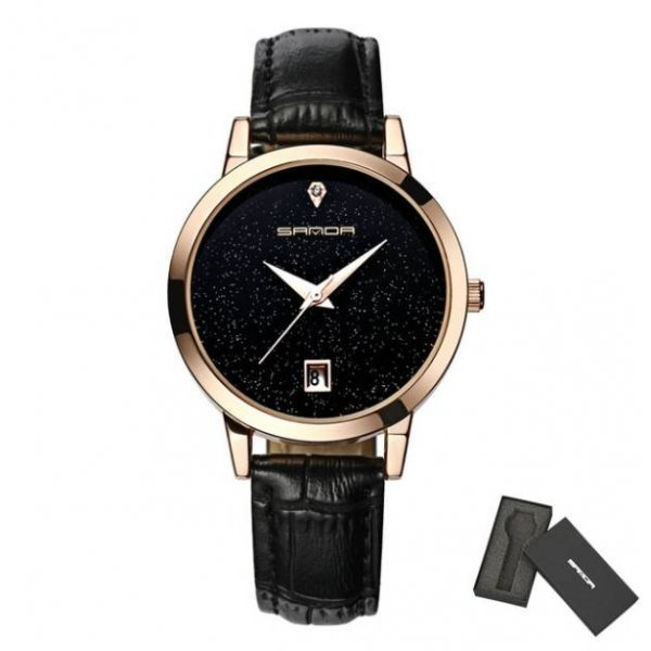 Часы S черные 2640