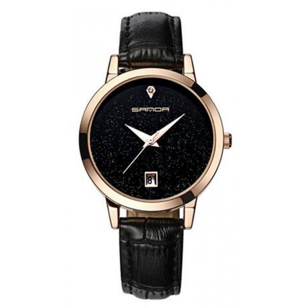 Женские Часы наручные Sanda черные 2640