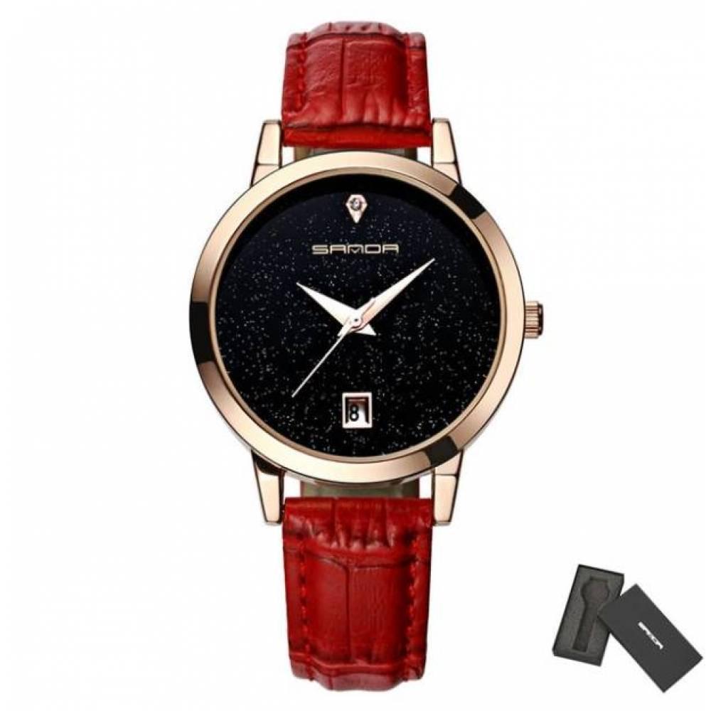 Женские Часы наручные S красные 2642