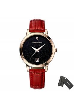 Женские часы S красные