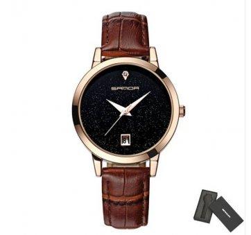 Женские Часы наручные S коричневые 2643
