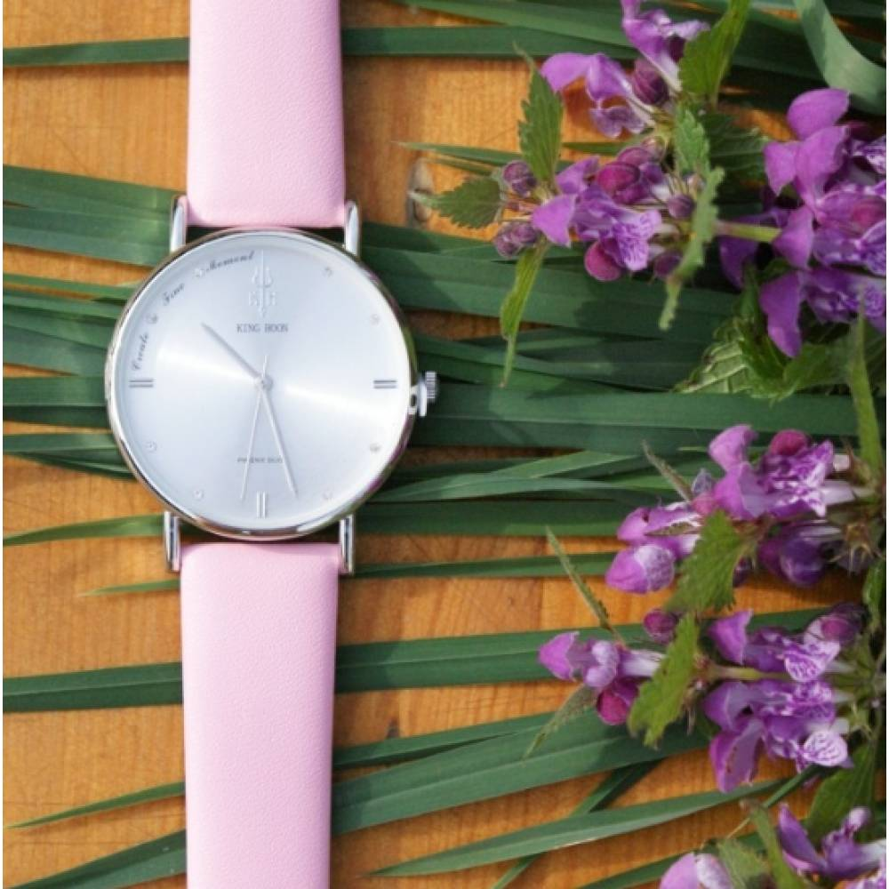 Женские Часы наручные KH розовые 2644