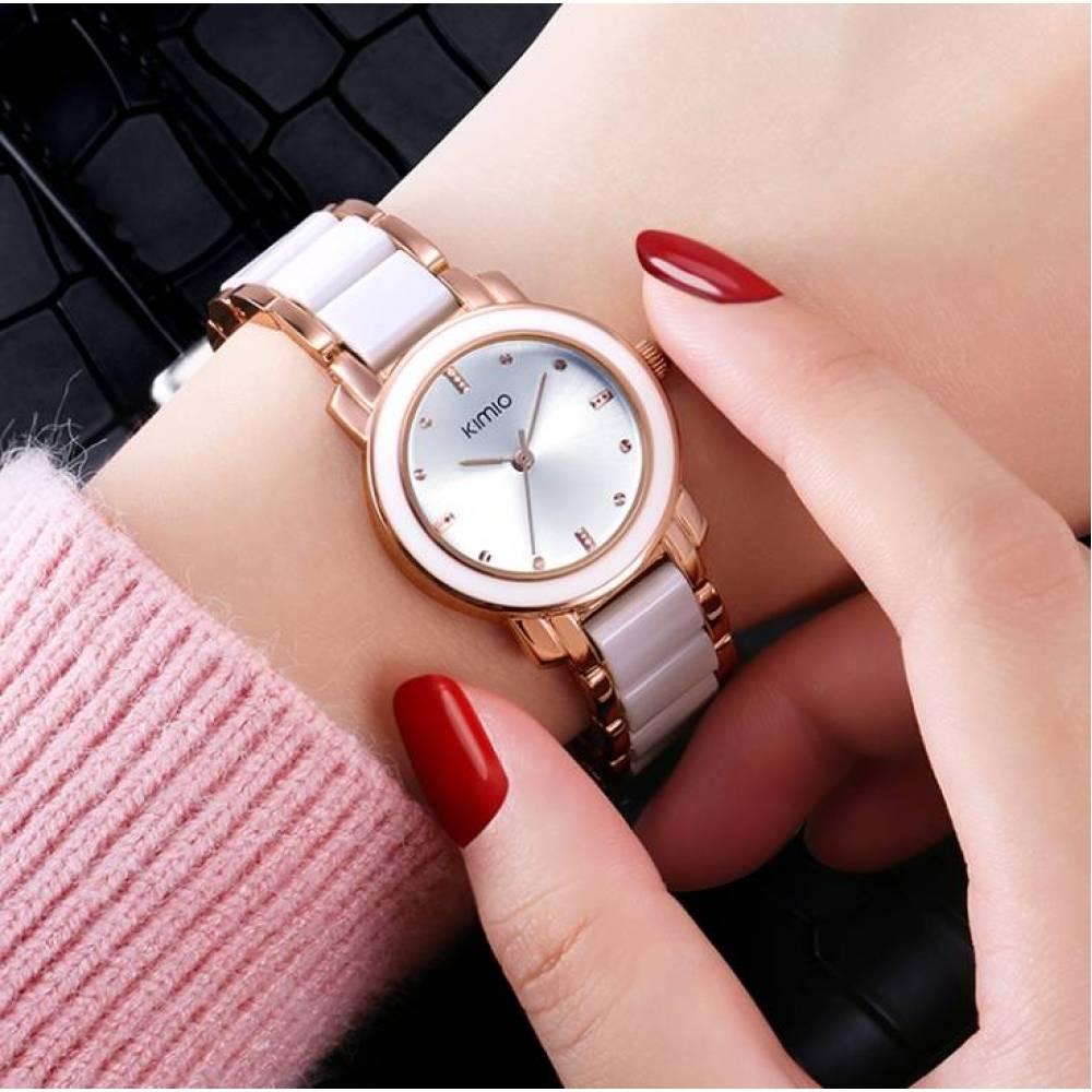 Женские Часы наручные Kimio белые 2655