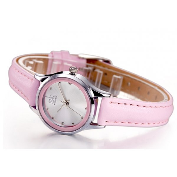 Часы SK розовые 2660