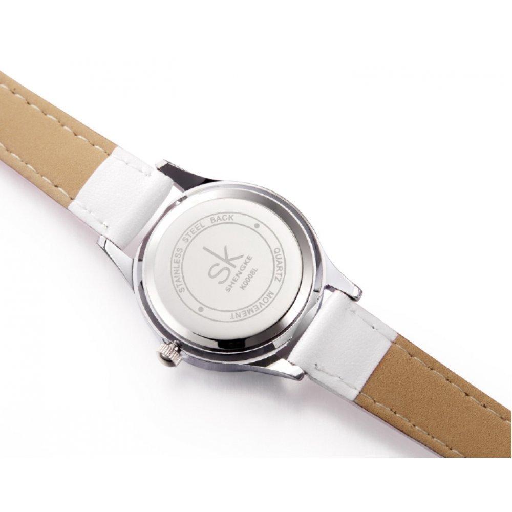 Женские Часы наручные SK серые 2661