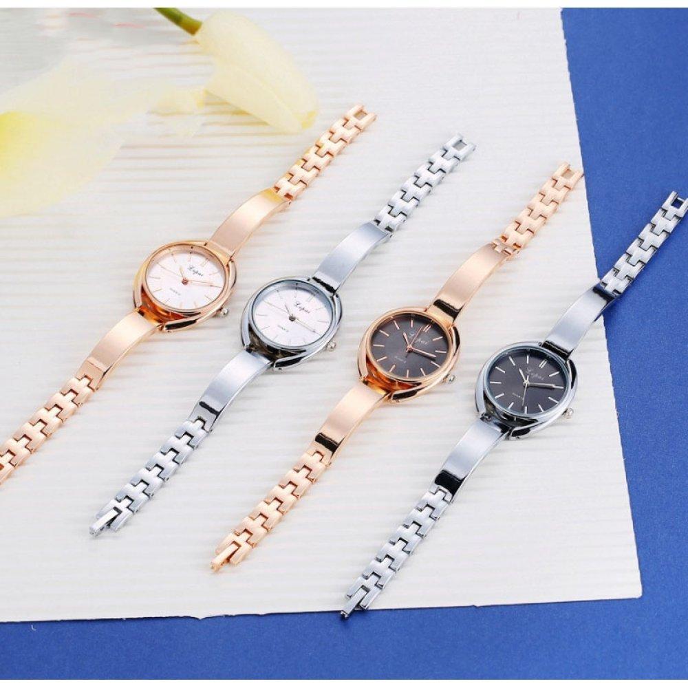 Женские Часы наручные LVPAI золотые с черным 2682
