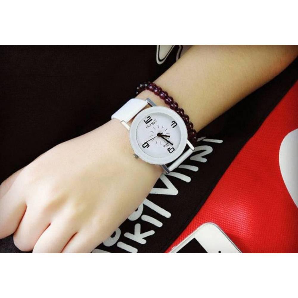 Женские Часы наручные HongC белые 2710