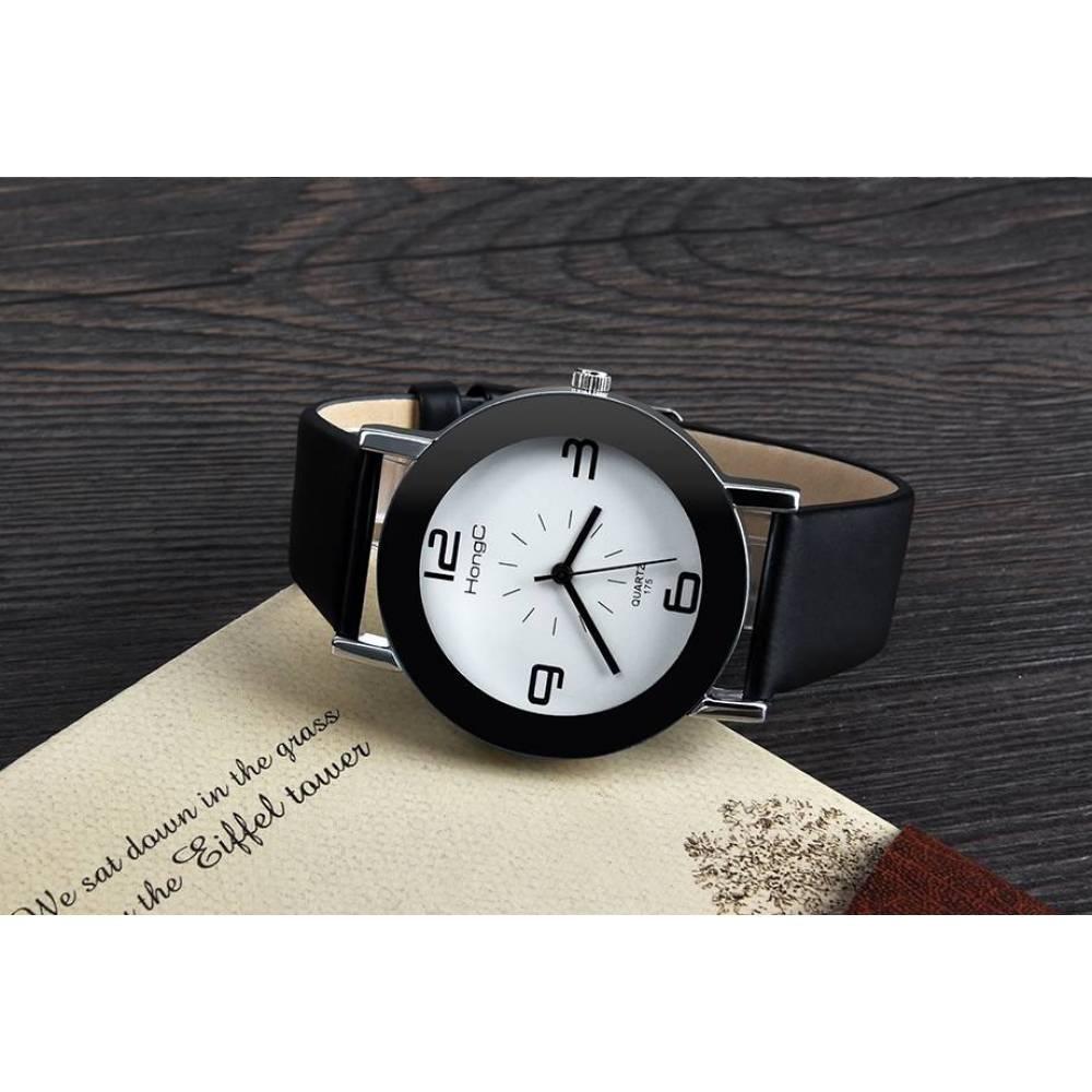 Женские Часы наручные HongC черные 2717