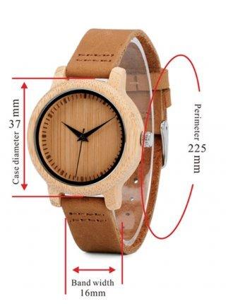 Часы BB дерево
