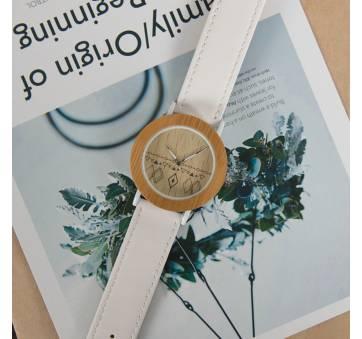 Женские Часы наручные BB дерево белые 2715