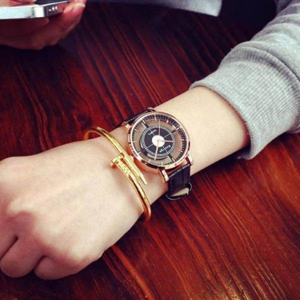 Часы Rosivga черные 2724