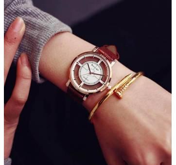 Женские Часы наручные Rosivga коричневые 2725