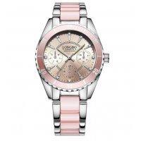 Часы LONGBO розовые