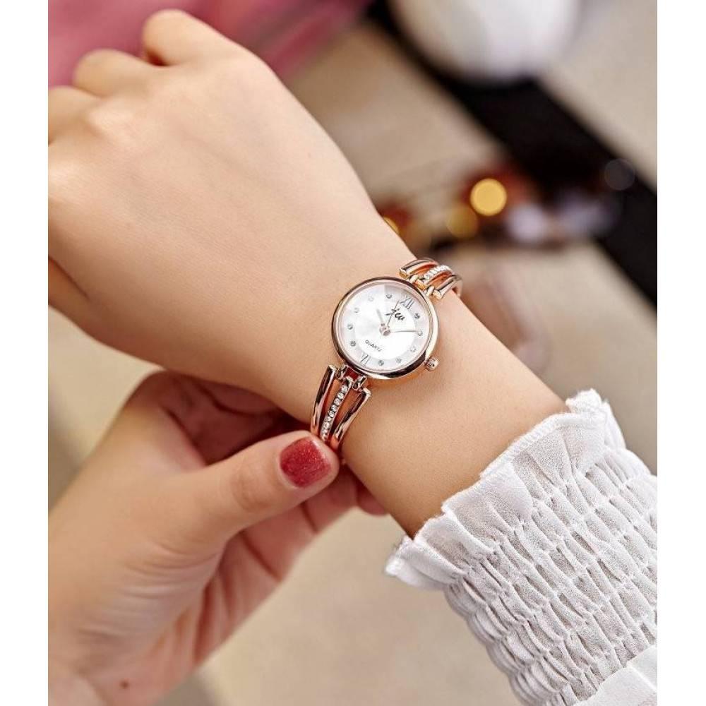 Женские Часы наручные Jw золотые 2743