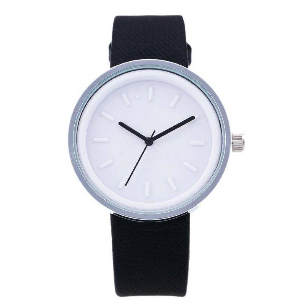 Женские Часы наручные MILER белые с черным 2748