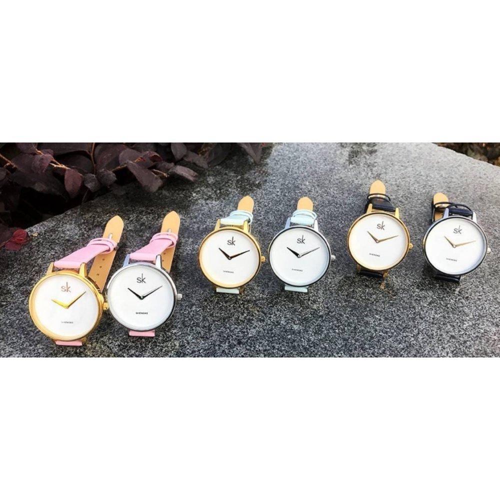 Женские Часы наручные SK розовые 2764