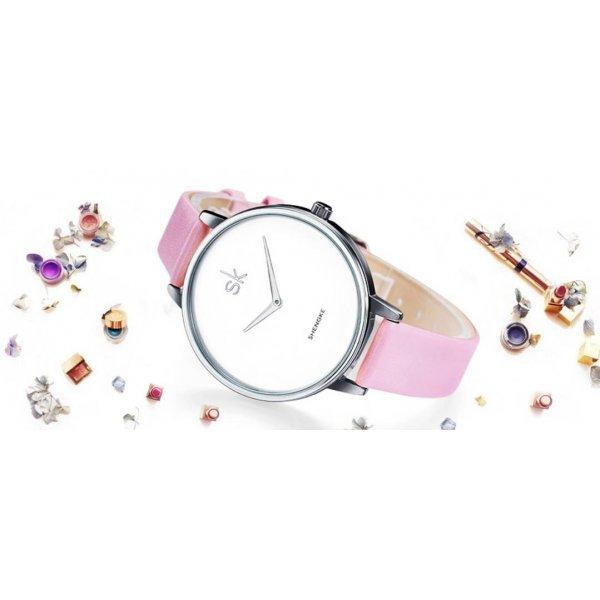 Часы SK розовые 2764