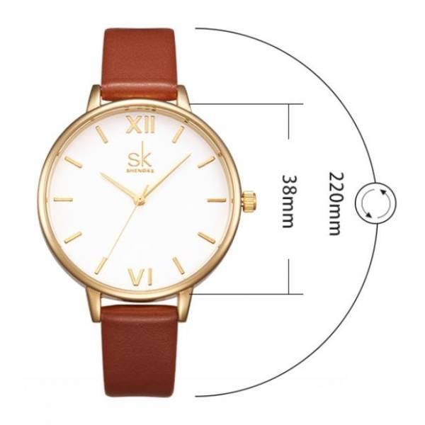 Часы SK коричневые 2765