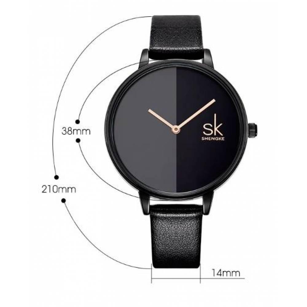 Женские Часы наручные SK черные 2767
