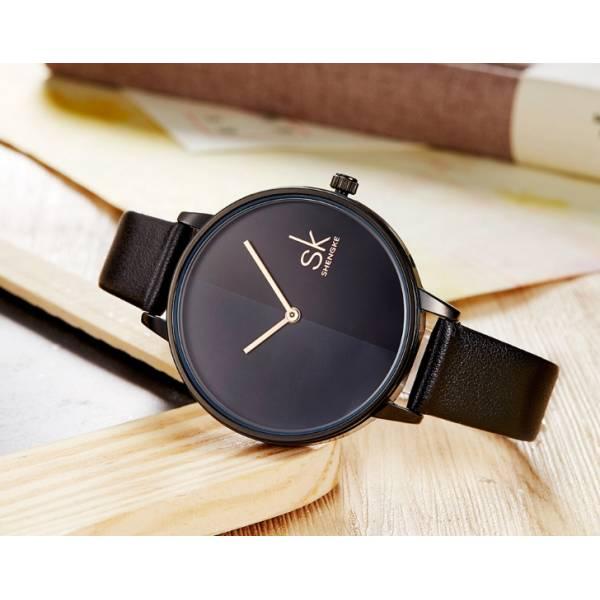 Часы SK черные 2767