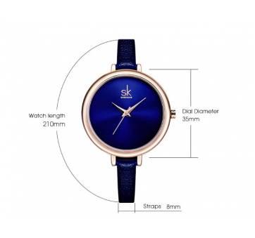 Женские Часы наручные SK синие 2768