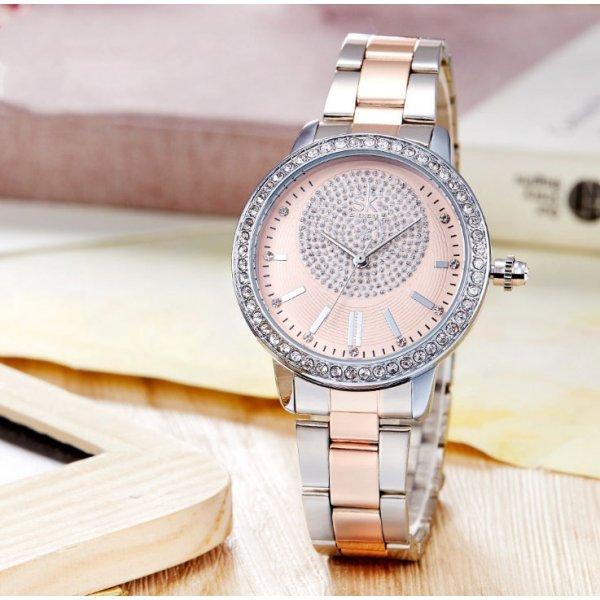 Часы SK розовые 2769
