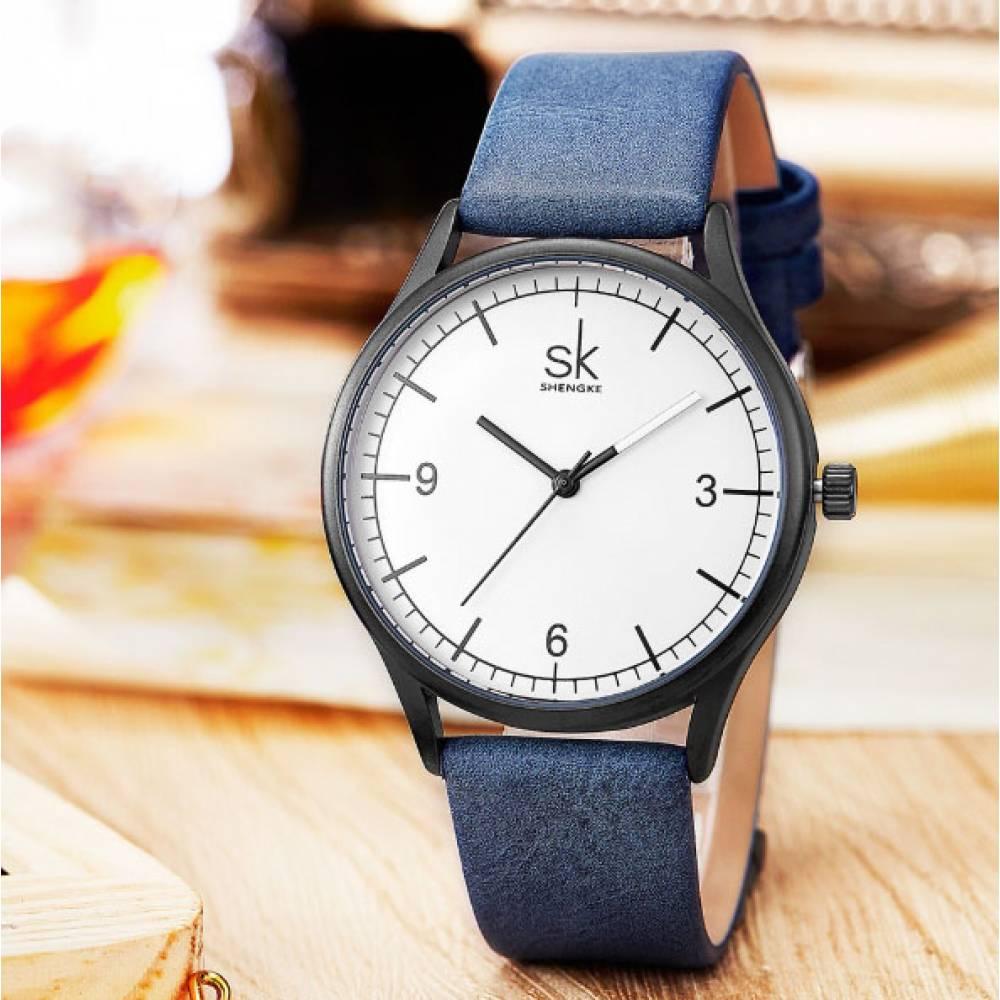 Женские Часы наручные SK коричневые 2770