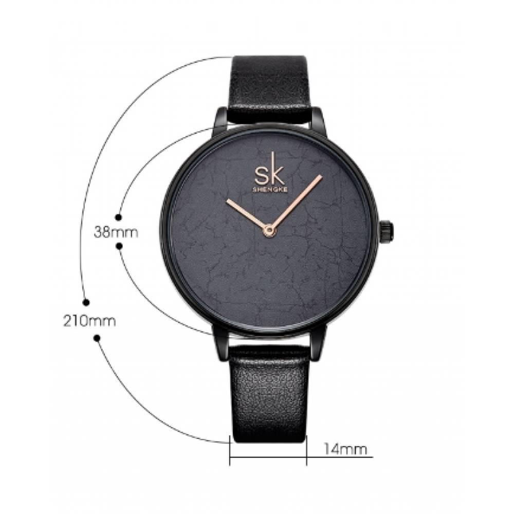 Женские Часы наручные SK серые 2771