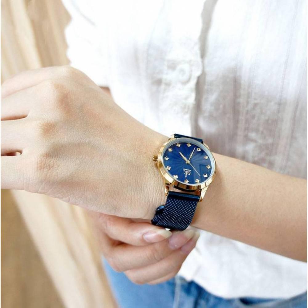 Женские Часы наручные SK синие 2772