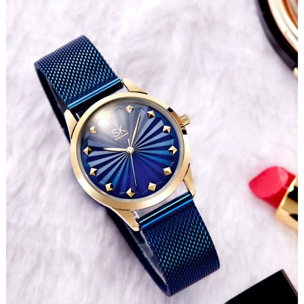 Часы SK синие 2772