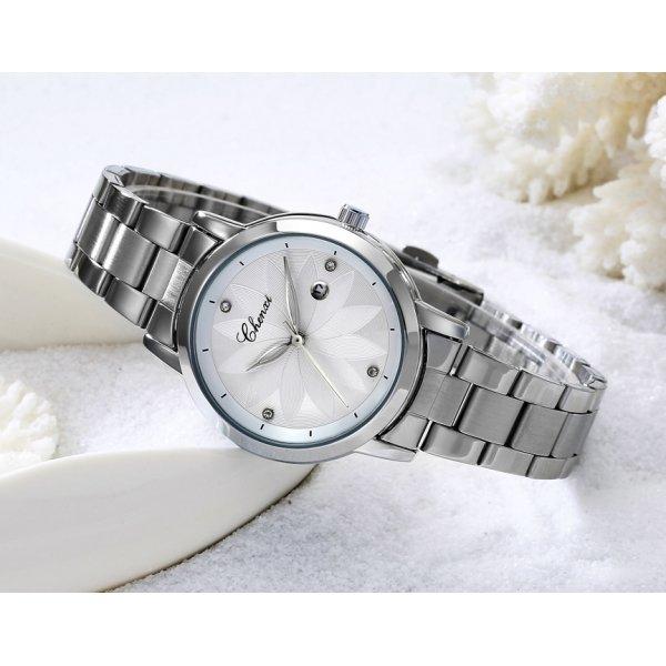 Часы Chenxi белые 2817