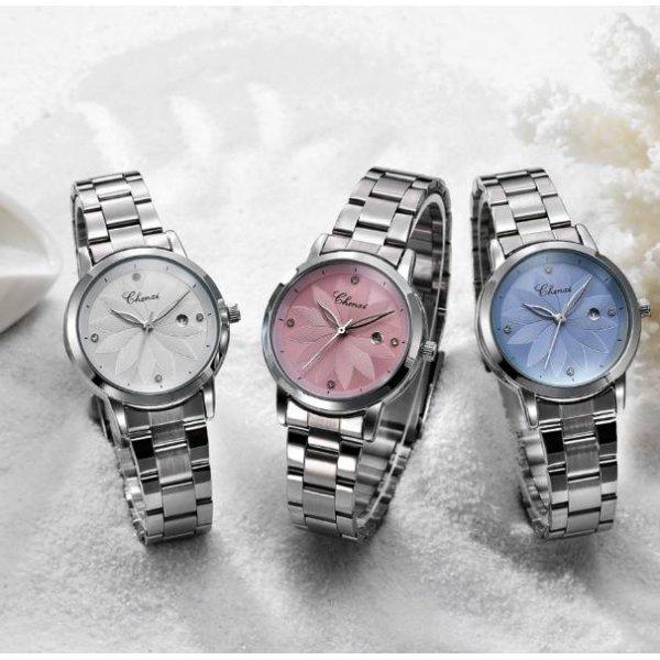 Часы Chenxi розовые 2819