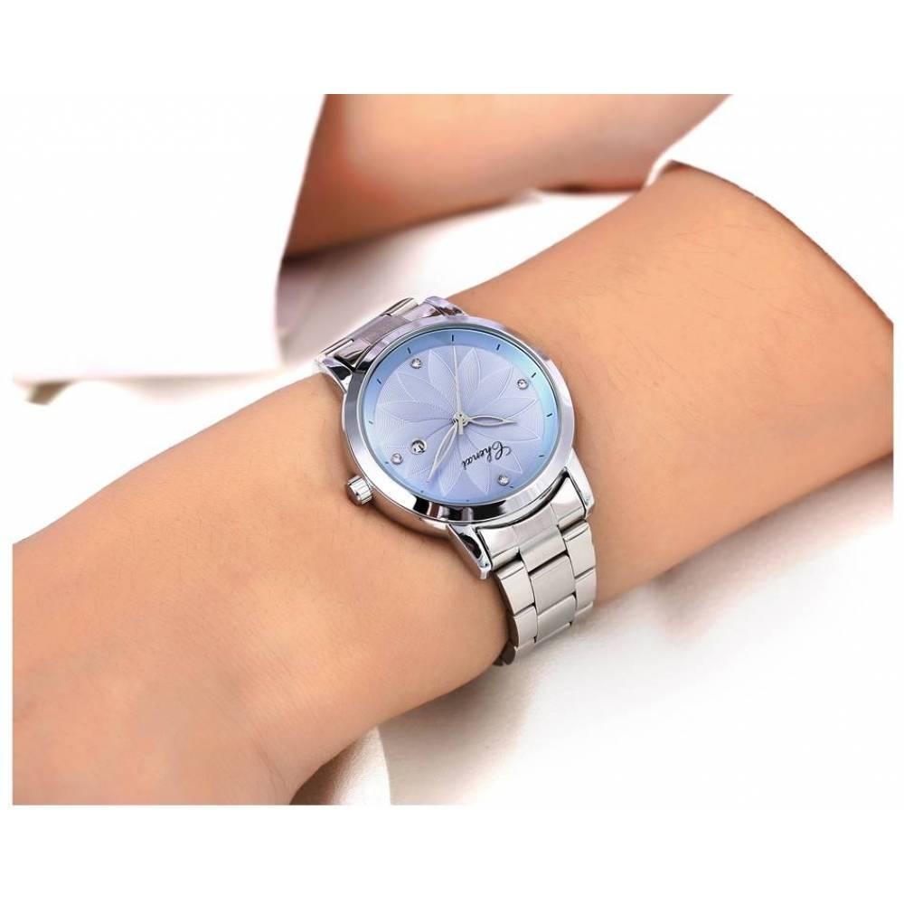 Женские Часы наручные Chenxi голубые 2818