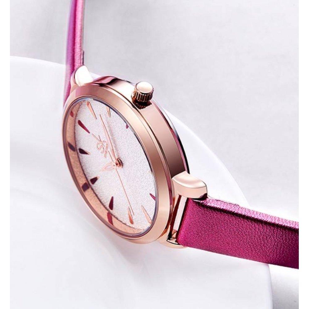 Женские Часы наручные SK розовые 2821
