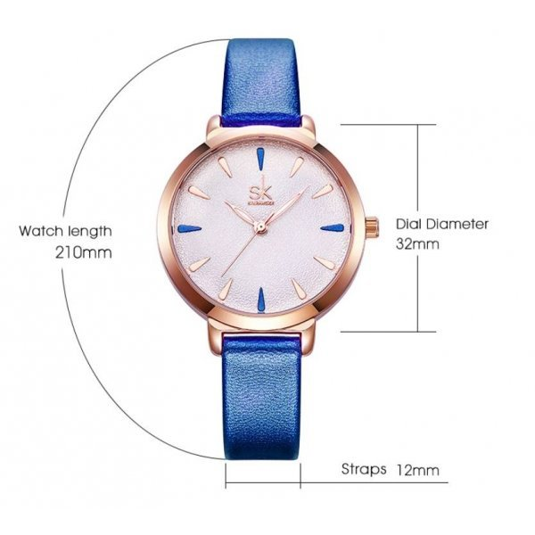 Часы SK розовые 2821