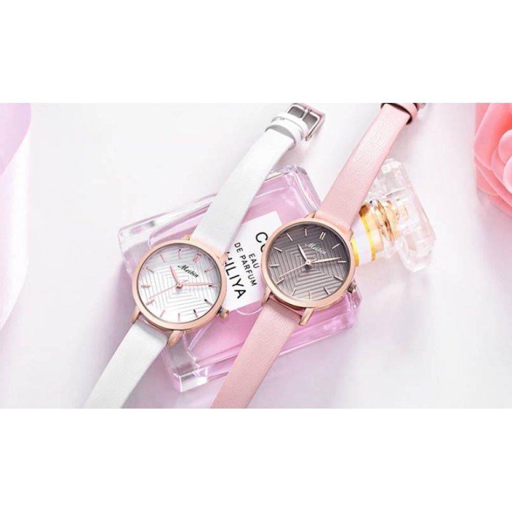 Женские Часы наручные MEIBIN розовые 2831