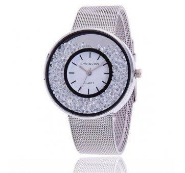 Женские Часы наручные Vansvar серебристые 2858